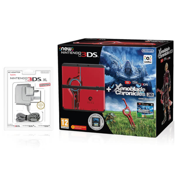 New Nintendo 3DS + Xenoblade Chronicles 3D Pack