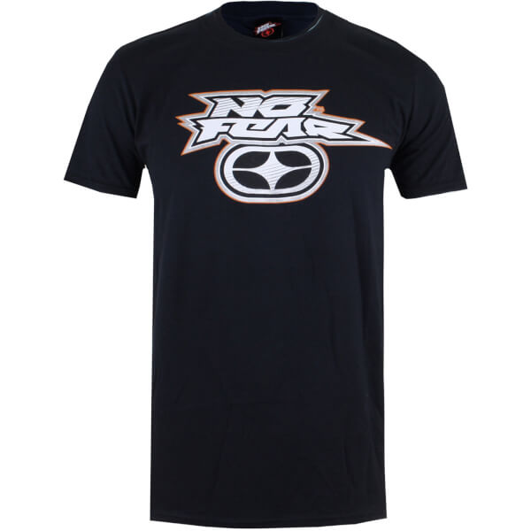 No Fear Men's Reflective Logo T-Shirt - Black