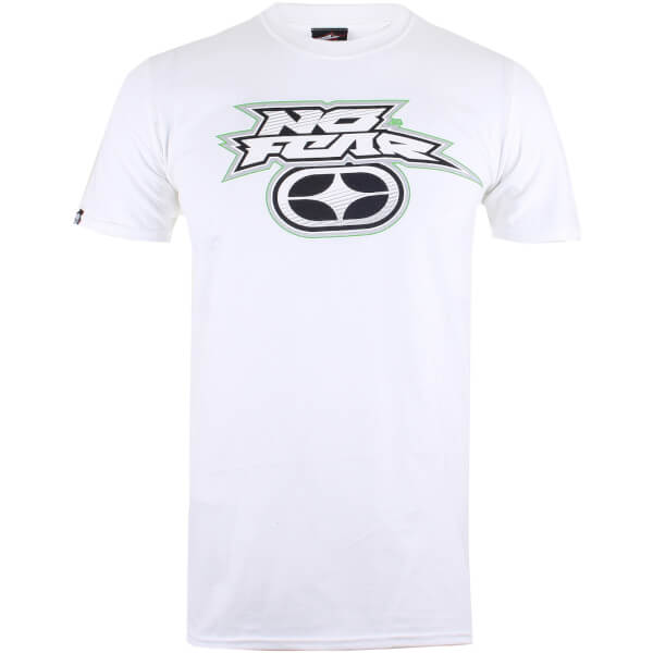 No Fear Men's Reflective Logo T-Shirt - White
