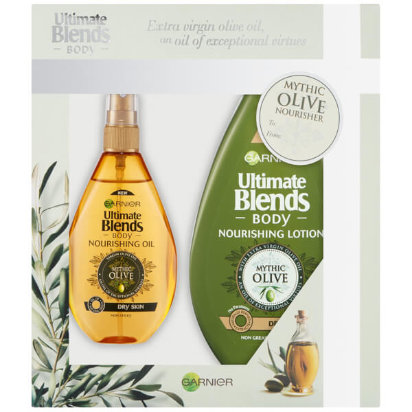 Garnier Body Ultimate Blends Mythic Olive Nourisher Gift Pack