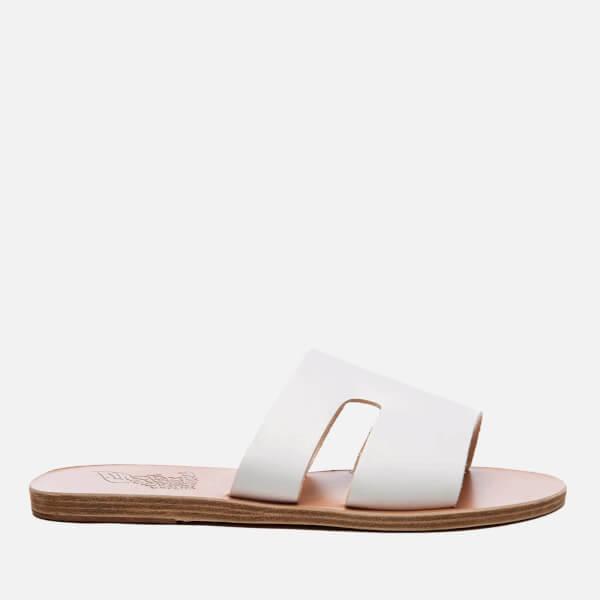 Ancient Greek Sandals Women's Apteros Vachetta Leather Slide Sandals - - EU 37/UK 4 HlCM49q6P