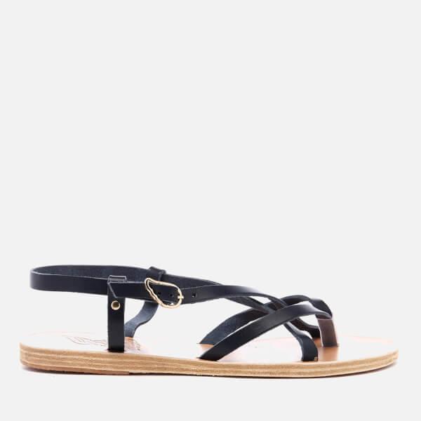 Ancient Greek Sandals Women S Semele Multi Strap Flat