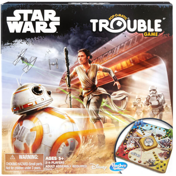 Star Wars Toy Game : Star wars trouble game toys zavvi