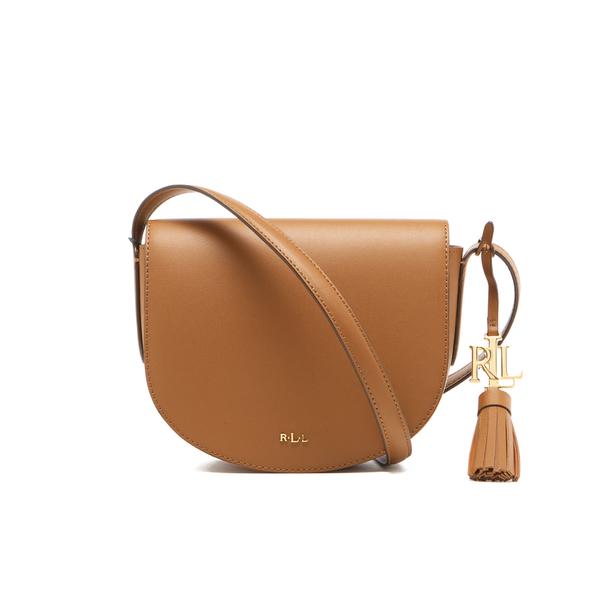 3b911553ee815 ... germany lauren ralph lauren womens dryden caley mini saddle bag field  brown monarch orange c4d9f 7d63e