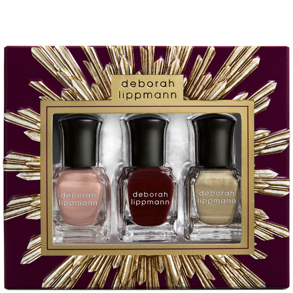 Deborah Lippmann Family Jewels Nail Varnish Gift Set (3x8ml)