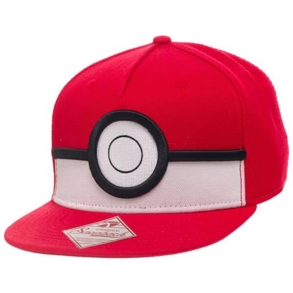 Pokémon Poké Ball Snapback Cap