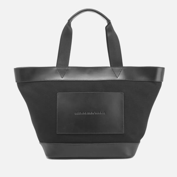 Alexander Wang Women's AW Canvas Tote Bag - Black