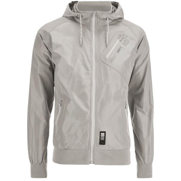 Crosshatch Men's Flexon Zip Through Hoody - Grey