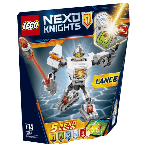 LEGO Nexo Knights: Battle Suit Lance (70366)