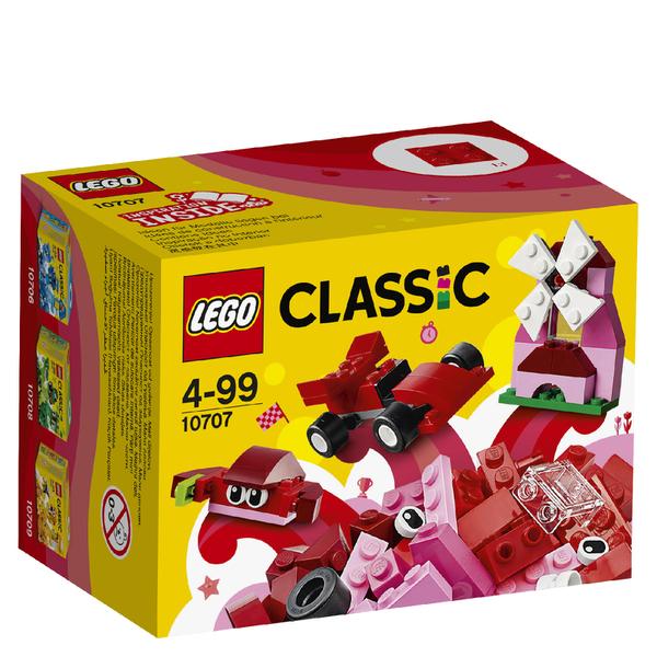LEGO Classic: Red Creativity Box (10707)