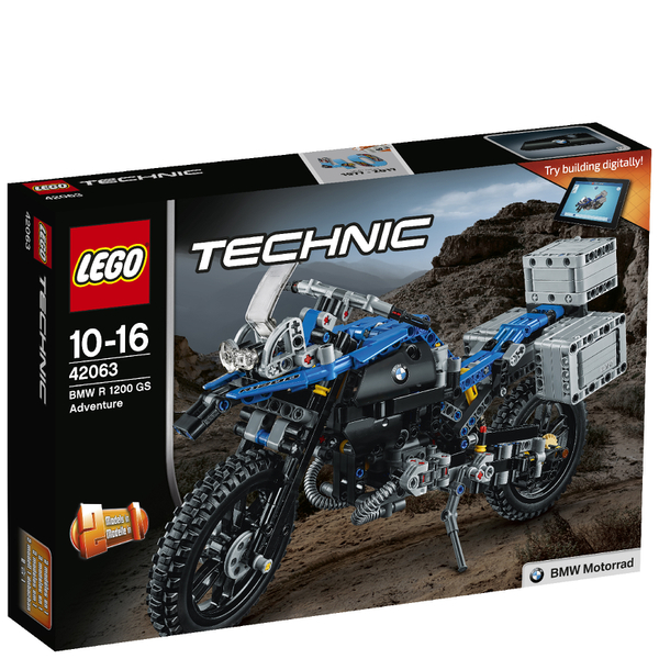 lego technic bmw r 1200 gs adventure 42063 toys. Black Bedroom Furniture Sets. Home Design Ideas