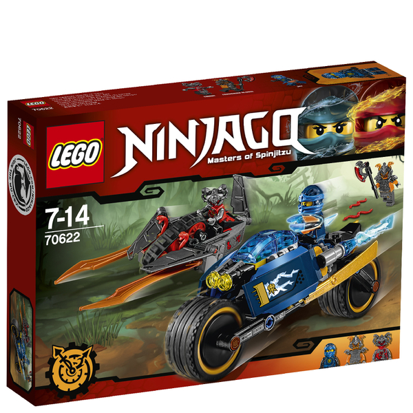 LEGO Ninjago: L'Éclair du désert (70622)
