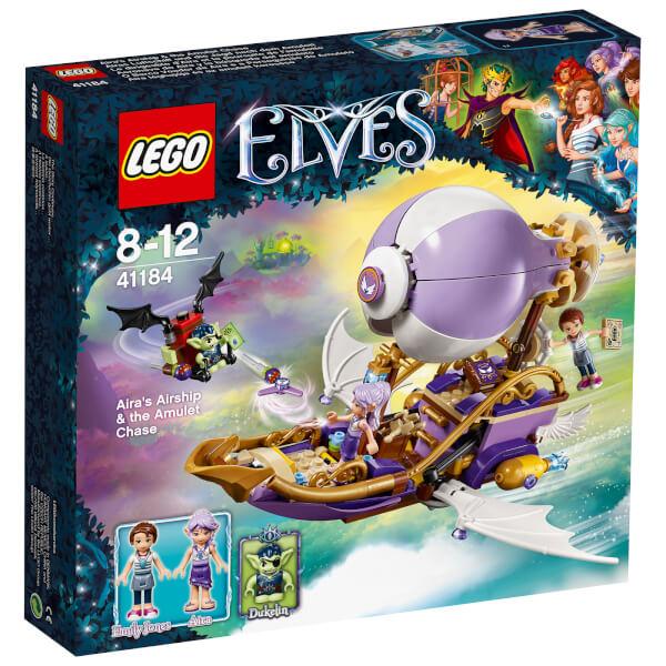 LEGO Elves: Le dirigeable d'Aira et la poursuite de l'amulette (41184)