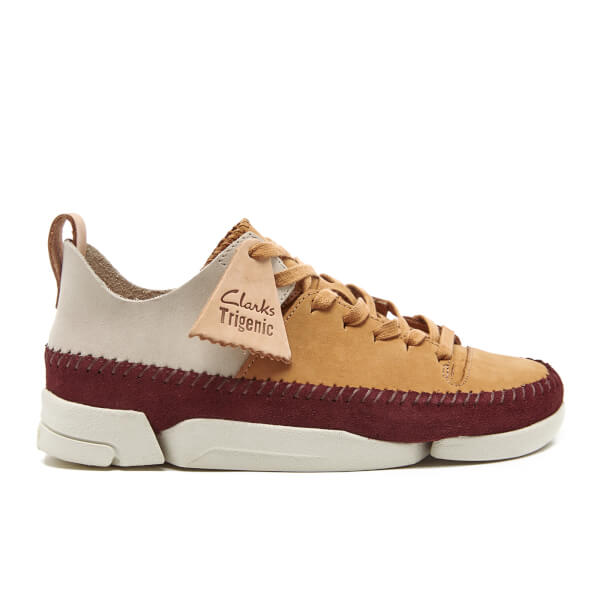 Clarks Originals Women s Trigenic Flex Shoes - Fudge Nubuck  Image 1 e1c4d80593