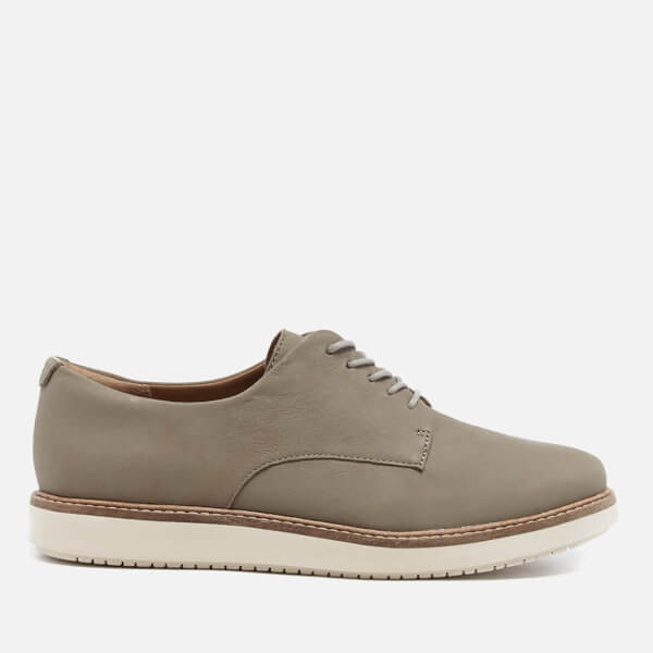 Clarks Women's Glick Suede Darby Shoes - Sage