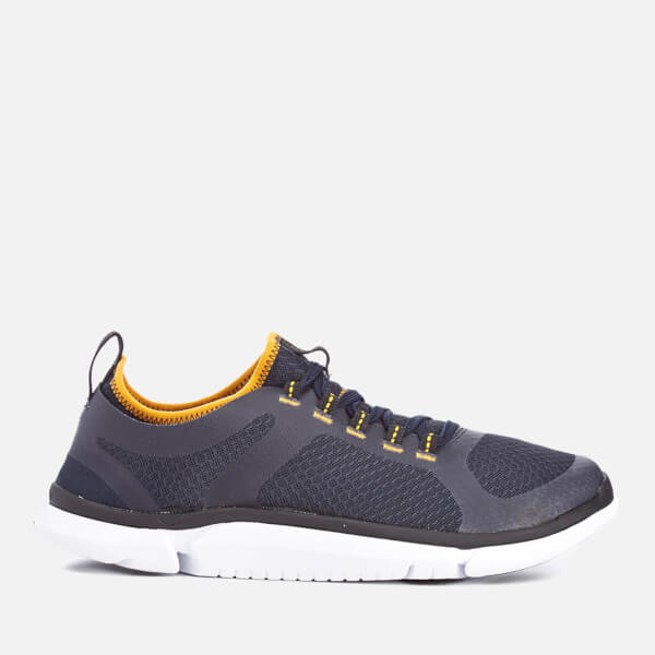 Clarks Men's Triken Active Runner Trainers - Navy