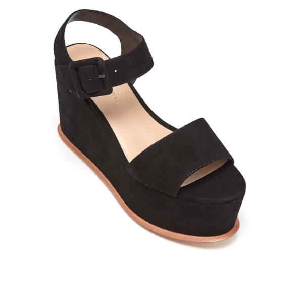 5e69697bf4a Loeffler Randall Women s Alessa Flatform Sandals - Black  Image 2