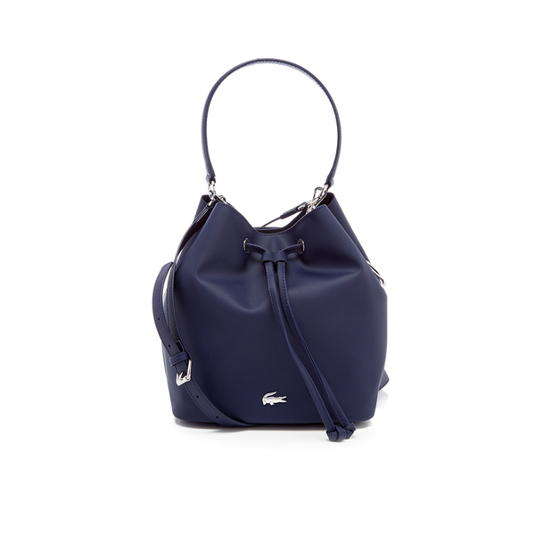 Lacoste Women's Bucket Bag - Navy
