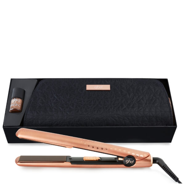 ghd v gold copper luxe styler premium gift set buy online at ry. Black Bedroom Furniture Sets. Home Design Ideas