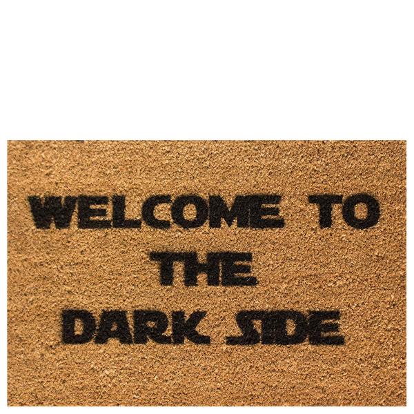 Welcome To The Dark Side Doormat Iwoot