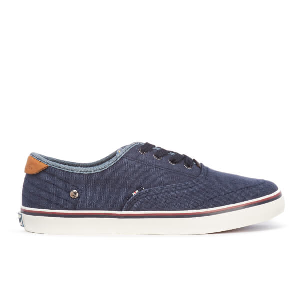 Wrangler Men's Legend Board Canvas Trainers - Navy