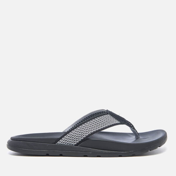 UGG Men's Tenoch Hyperweave Treadlite Toe Post Sandals - Black