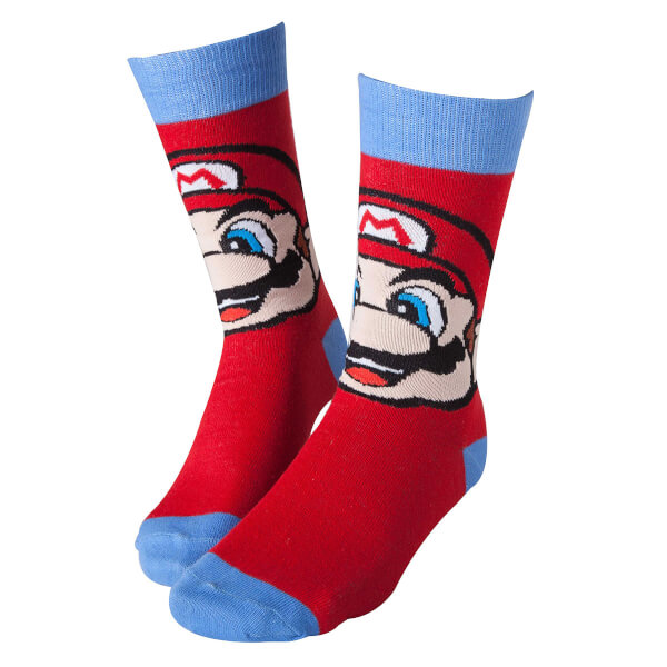 Mario - Crew Socks