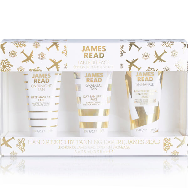 James Read Tan Edit Face Christmas 3x25ml