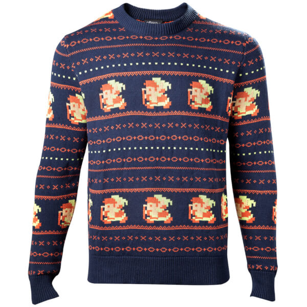 The Legend of Zelda Link Christmas Jumper