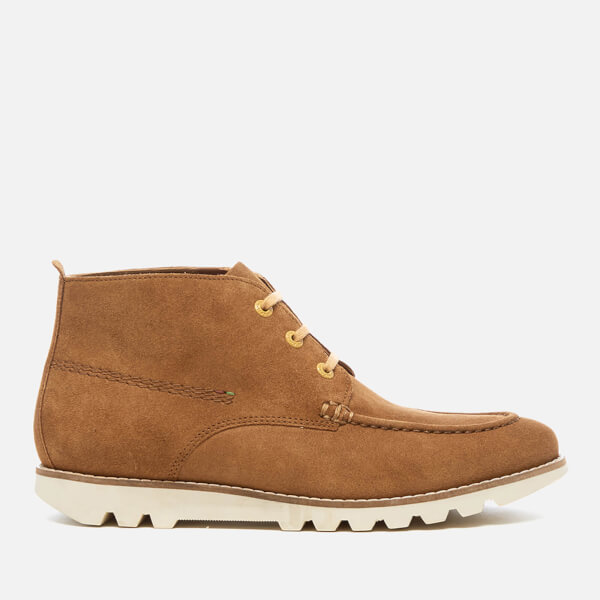 Kickers Men's Kymbo Moccasin Suede Boots - Light Brown