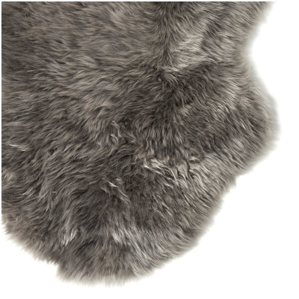 Slate grey sheepskin rug single - Ugg Sheepskin Area Rug Single Grey Free Uk Delivery