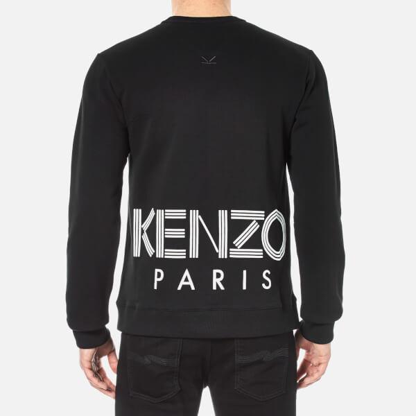 all black kenzo jumper