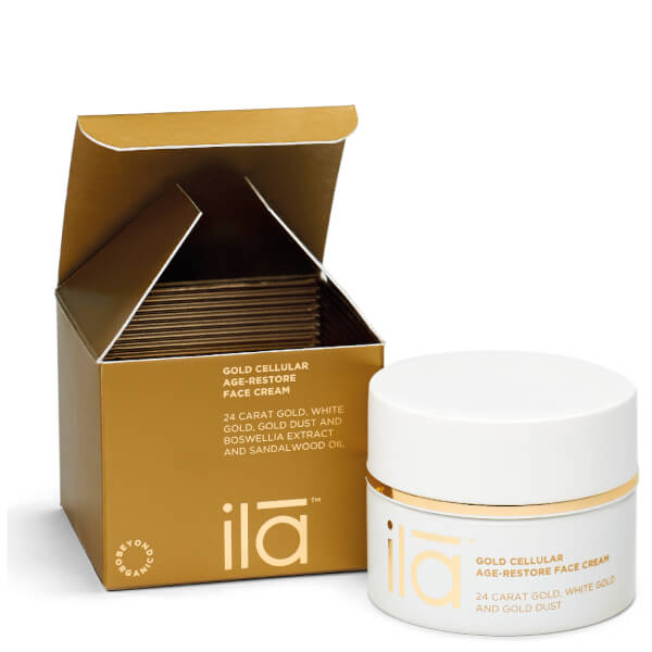 Ila-Spa Gold Cellular Age-Restore Face Cream 50g