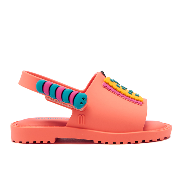 Mini Melissa Toddlers' Fabula Mia Sandals - Coral