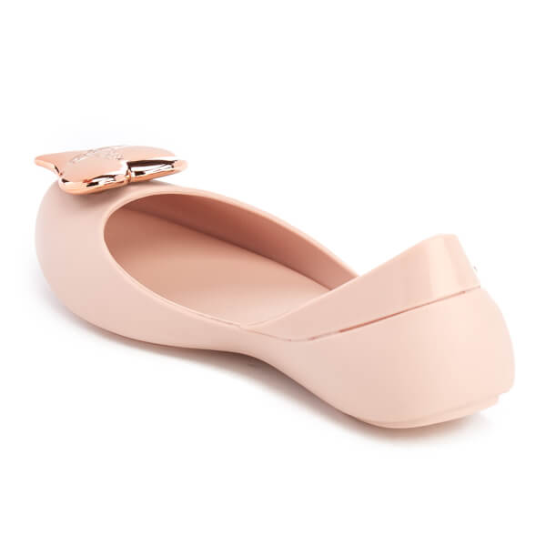 Mini Melissa Vivienne Westwood Kids' Queen Ballet Flats - Rose Heart: Image  4