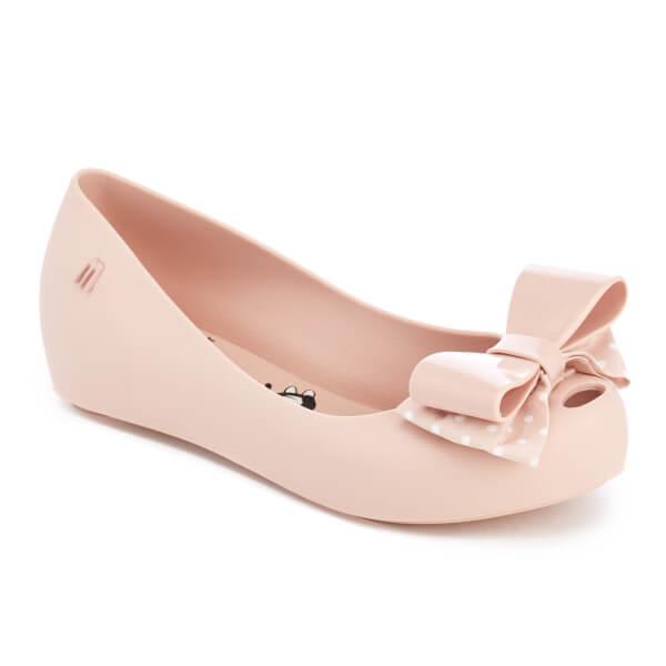 0e731eb6e94 Mini Melissa Kids  Minnie Mouse Ultragirl Bow Ballet Flats - Blush  Image 2