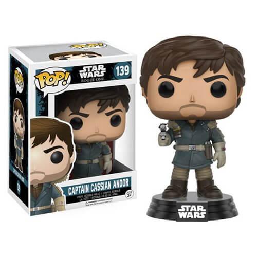 Figurine Pop! Captain Cassian Andor Star Wars Rogue One