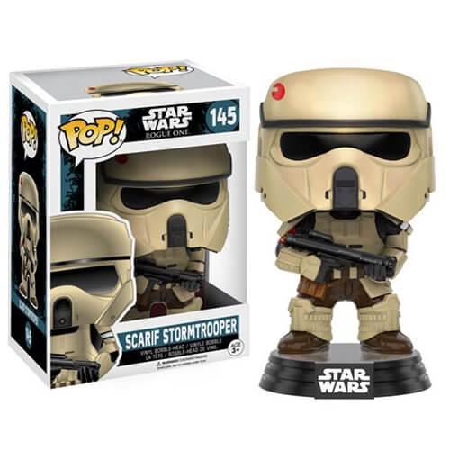 Star Wars Rogue One Scarif Stormtrooper Figurine Funko Pop! Bobblehead