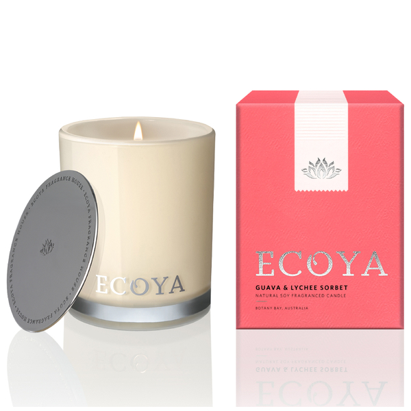 ECOYA Guava and Lychee Candle - Mini Madison