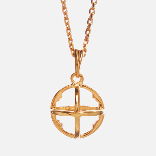 Kiki Minchin Women's The Baby Roxy Cage Necklace - Gold