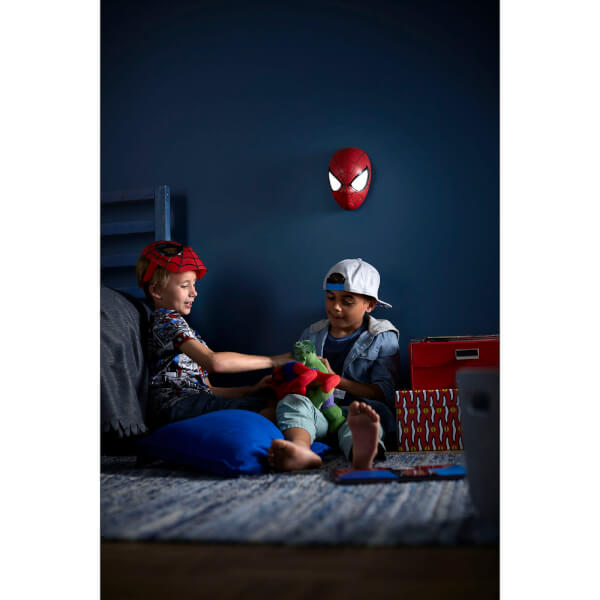 Marvel 3d wall light spiderman gifts zavvi australia marvel 3d wall light spiderman image 4 aloadofball Image collections