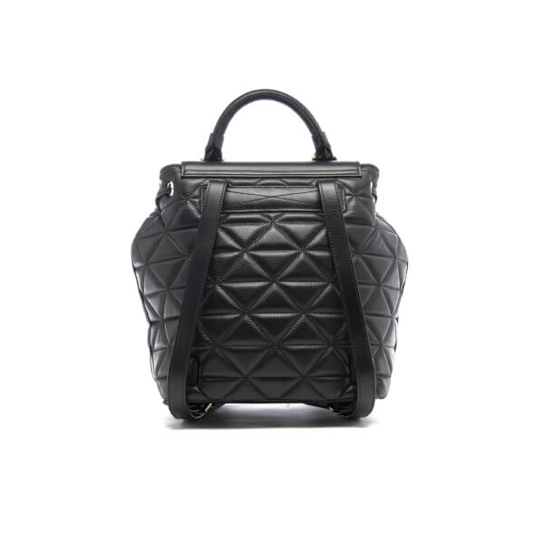 Ted Baker Women's Gaile Quilted Luggage Lock Backpack - Black : dkny quilted rucksack - Adamdwight.com
