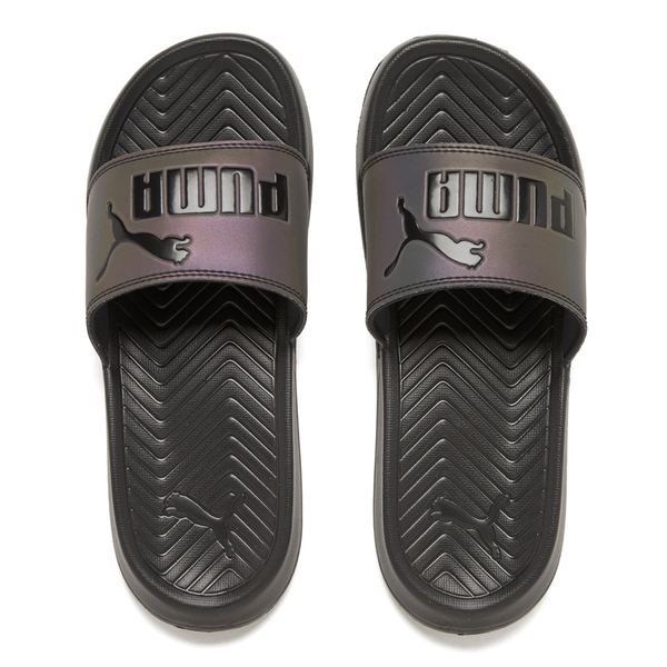 Puma Women's Popcat Swan Slide Sandals - Puma Black: Image 1