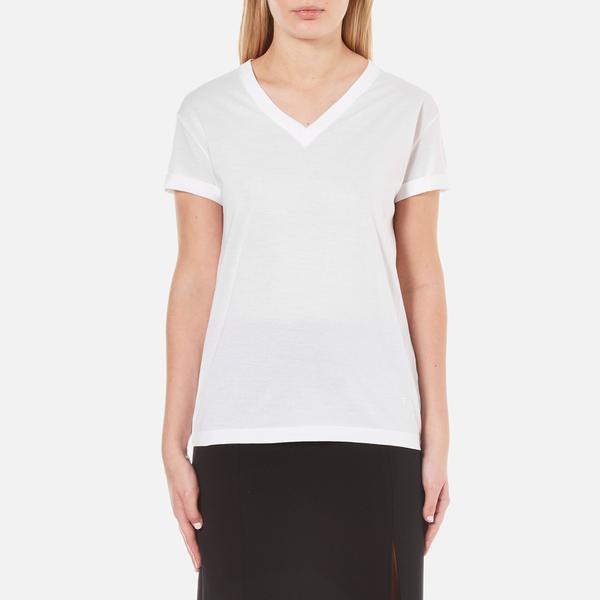 T by alexander wang women 39 s superfine jersey short sleeve for Alexander wang t shirt women
