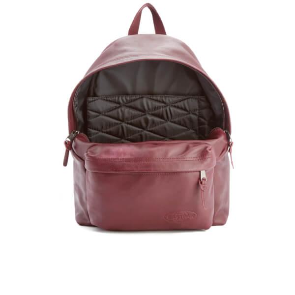 9b616141bf3 Eastpak Padded Pak'r Leather Backpack - Oxblood: Image 5