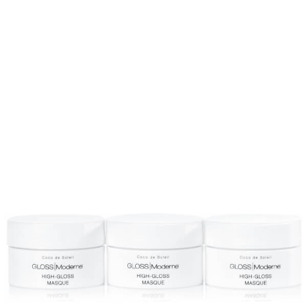 Gloss Moderne High-Gloss Travel Masque Trio