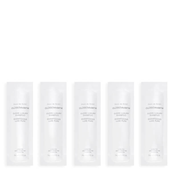 Gloss Moderne Clean Luxury Travel Shampoo (5 Pack)