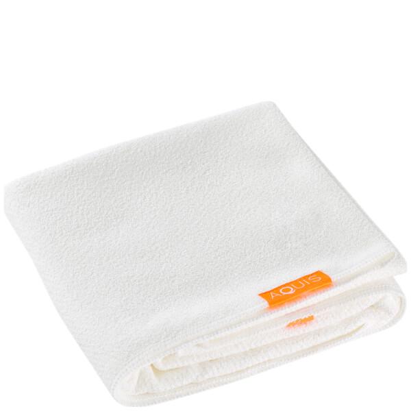 Aquis Hair Towel Lisse Luxe White
