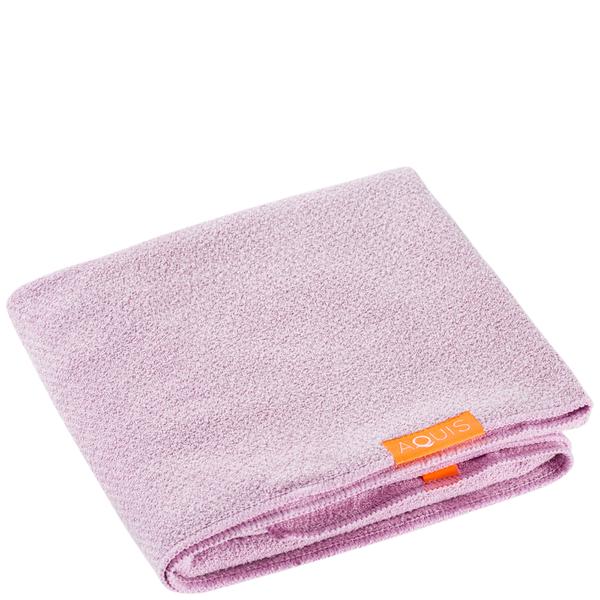 Aquis Lisse Luxe Hair Towel - Desert Rose