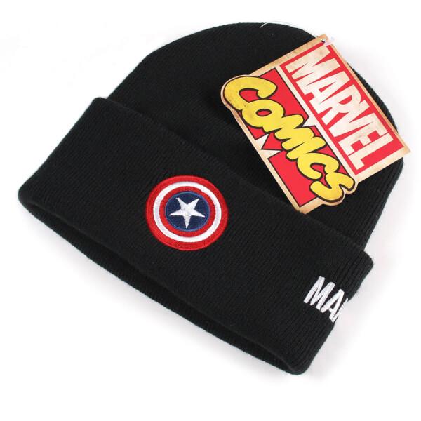 Mens Captain America Shield Beanie MARVEL txgalDi